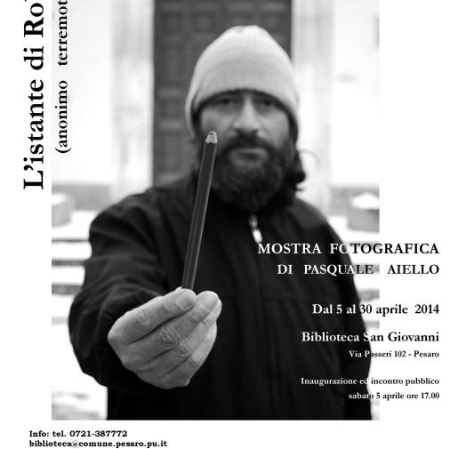 """MOSTRA - """"L'ISTANTE DI ROBERTO"""" (2014)"""