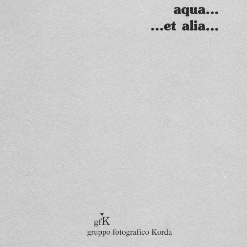 AQUA ET ALIA...  (1998)