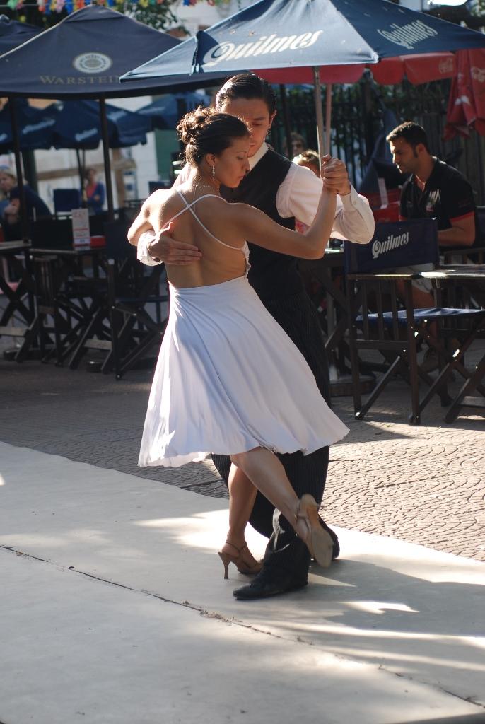 Tango a Plaza Dorrego - Buenos Aires, 2011
