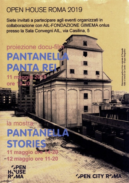 OPEN HOUSE - PANTAREI PANTANELLA (2019)